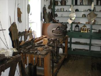 Let's go shopping, 1860s style. If you lived back in the Old West, chances are the tinsmith ran one of your favorite shops. To an untrained eye, entering his store might look as though you're entering a cluttered space. But if you look closer, you'll note the fine tools, the specialty patterns and the intricate designs. What you'll love most of all is the usefulness of every product.