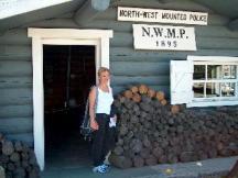 Mountie Cabin in the Yukon