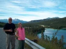 Between Yukon and Alaska