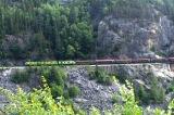 Train Between Yukon and Alaska