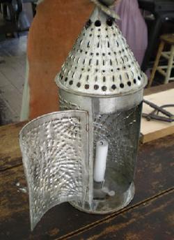 Close-up of a lantern.