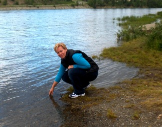 Kate and the Yukon River