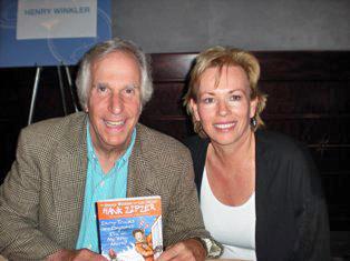 Henry Winkler and Kate Bridges