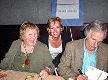Lin Oliver, Henry Winkler, and Kate Bridges