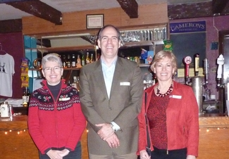 Margaret Moore, Mark Leslie, and Kate Maddison