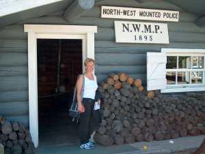 Yukon Mountie Cabin
