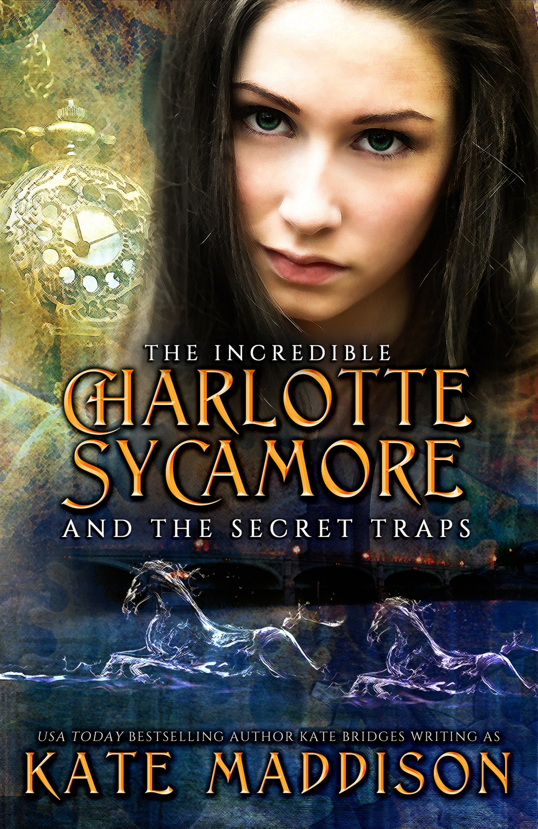 Young Adult - The Incredible Charlotte Sycamore and the Secret Traps